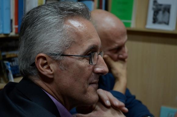 Sergio Barce y Javier Valenzuela