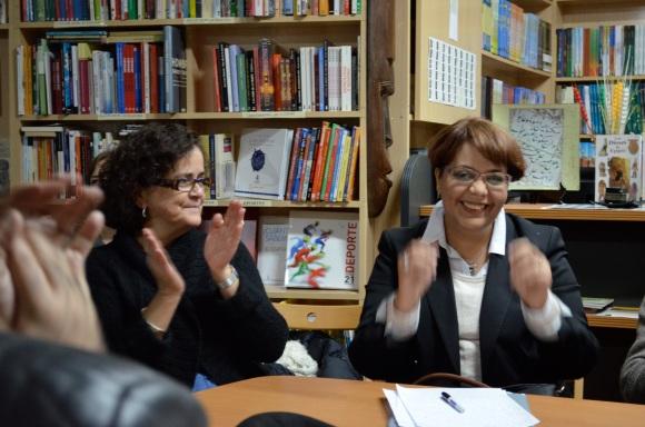 Gabriela Grech y Rajae Boumediane