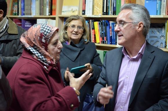 Hor Amina, Angeles Ramírez y Sergio Barce