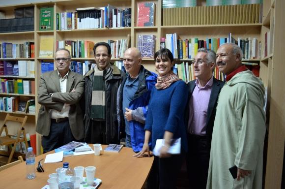 Mohamed Chouirdi, Mohamed Dahiri, Javier Valenzuela, Nabila Boumediane, Sergio Barce y Abdeslam Boubel