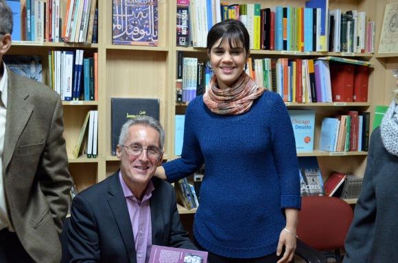 Sergio Barce y Nabila Boumediane