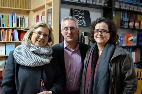 Angeles Ramírez, Sergio Barce y Gabriela Grech