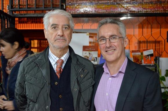 Sergio Barce y Oscar López