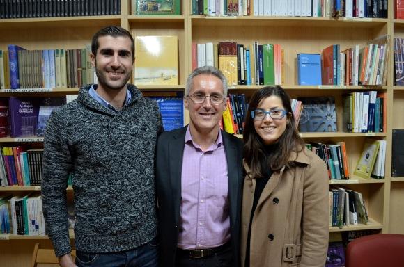 Juan Carlos, Sergio Barce y Lidia