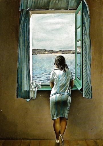Muchacha en la ventana (1925), de Salvador Dalí