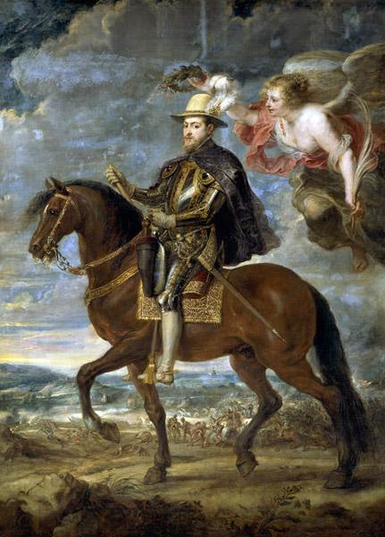 Felipe II, pintura de Rubens