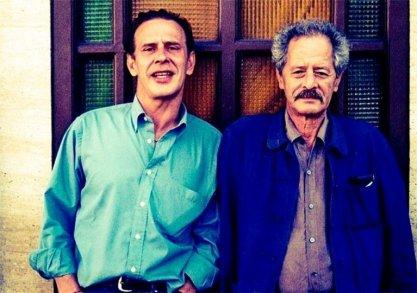 Javier Valenzuela y Mohamed Chukri en 2002