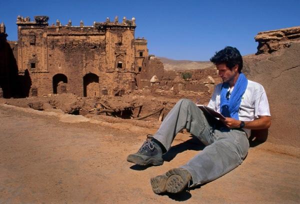 Pedro Delgado conoce bien Marruecos, donde ha viajado mucho.