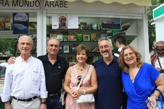 LOS HERMANOS PICAZO, ADELA MANSO OSUNA, SERGIO BARCE Y ANGE RAMÍREZ