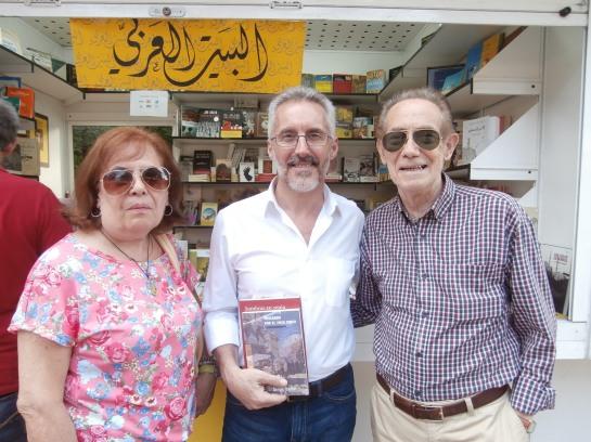 Con Carlos Egea y su mujer