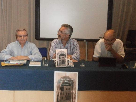 ANTONIO MORENO AYORA, SERGIO BARCE Y MANUEL GAHETE