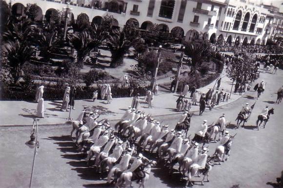 LARACHE - Antigua Plaza de España, hoy Plaza de la Liberación