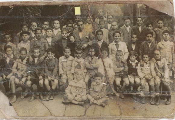Año 1925 - ALIANZA ISRAELITA DE LARACHE - foto enviada por Leon Cohen