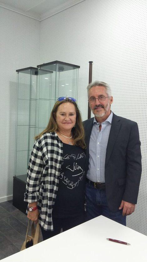 MARÍA POVEDA Y SERGIO BARCE