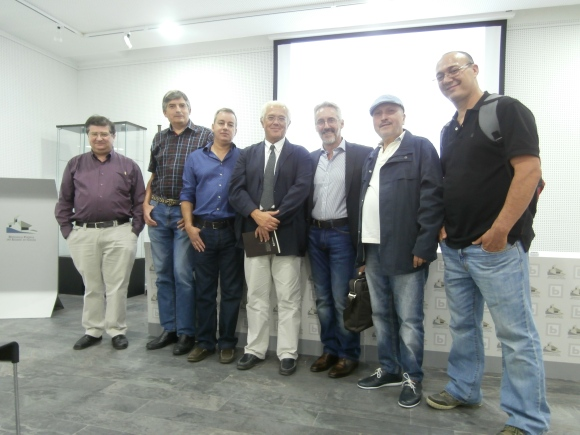 JOSE LUIS GÓMEZ BARCELÓ, PEDRO ANTONA, RAMÓN TARRÍO, JOSÉ ANTONIO ALARCÓN, SERGIO BARCE, MOHAMED LAHCHIRI Y ABDERRAHMAN LANJRI