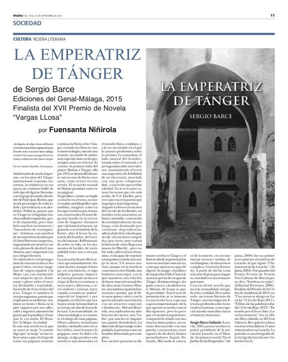 RESEÑA EN WADI-AS DE GUADIX por F.Niñirola