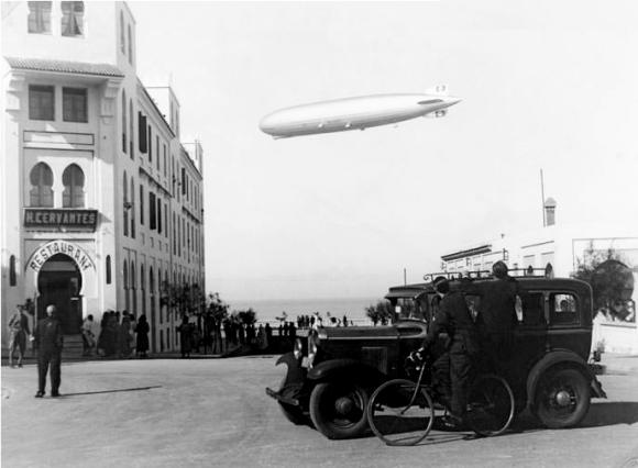 Un Zeppelin sobre Larache