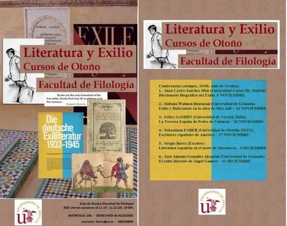 Literatura y Exilio DIPTICO