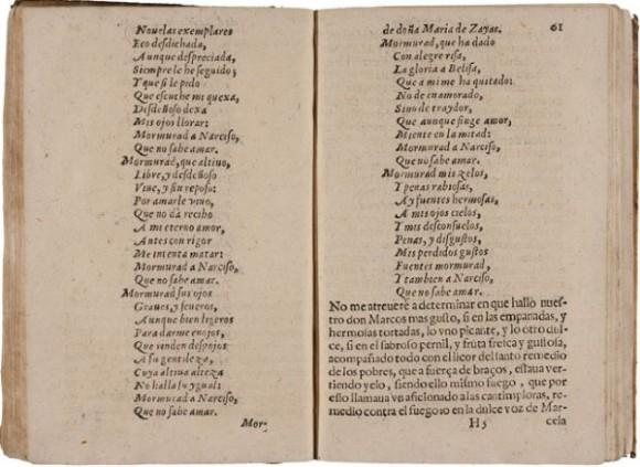 poemas de María de Zayas