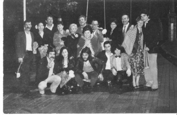 MIGUEL ALVAREZ, SUS PADRES MANOLO Y PEPITA, EDUARDO ESPINOSA, LOS OCAÑA...