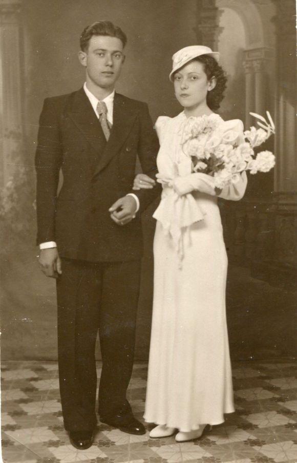 Mis abuelos MANUEL GALLARDO y EDUARDA MARTÍNEZ