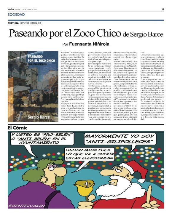 WADIAS PASEANDO POR EL ZOCO CHICO