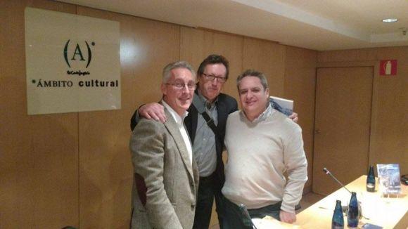 Sergio Barce, Víctor Pérez y Jesús Otaola