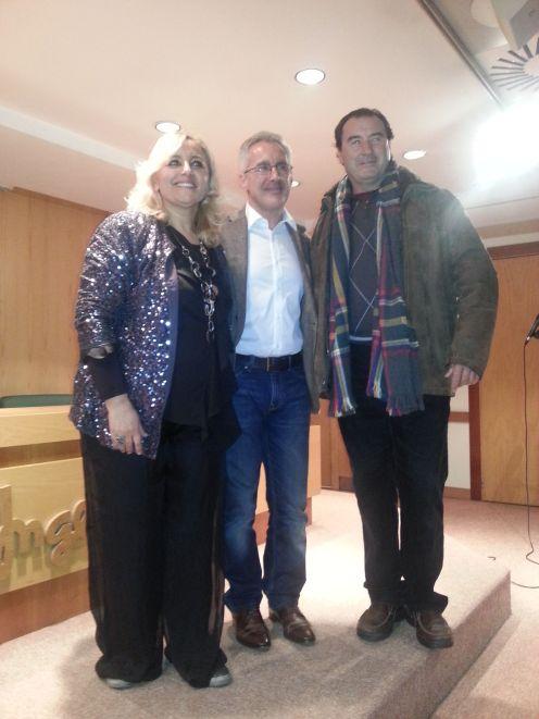 SARA, SERGIO Y GERMÁN