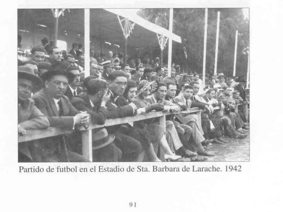 1942 - ESTADIO DE SANTA BÁRBARA - LARACHE