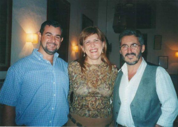 JUAN CARLOS PALAREA, ISABELITA MATAMALA Y SERGIO BARCE