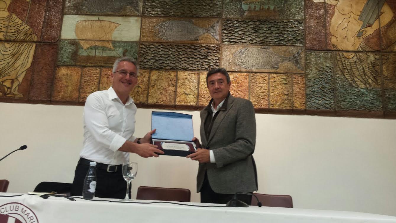 Sergio Barce y JOSÉ M. CALZADO