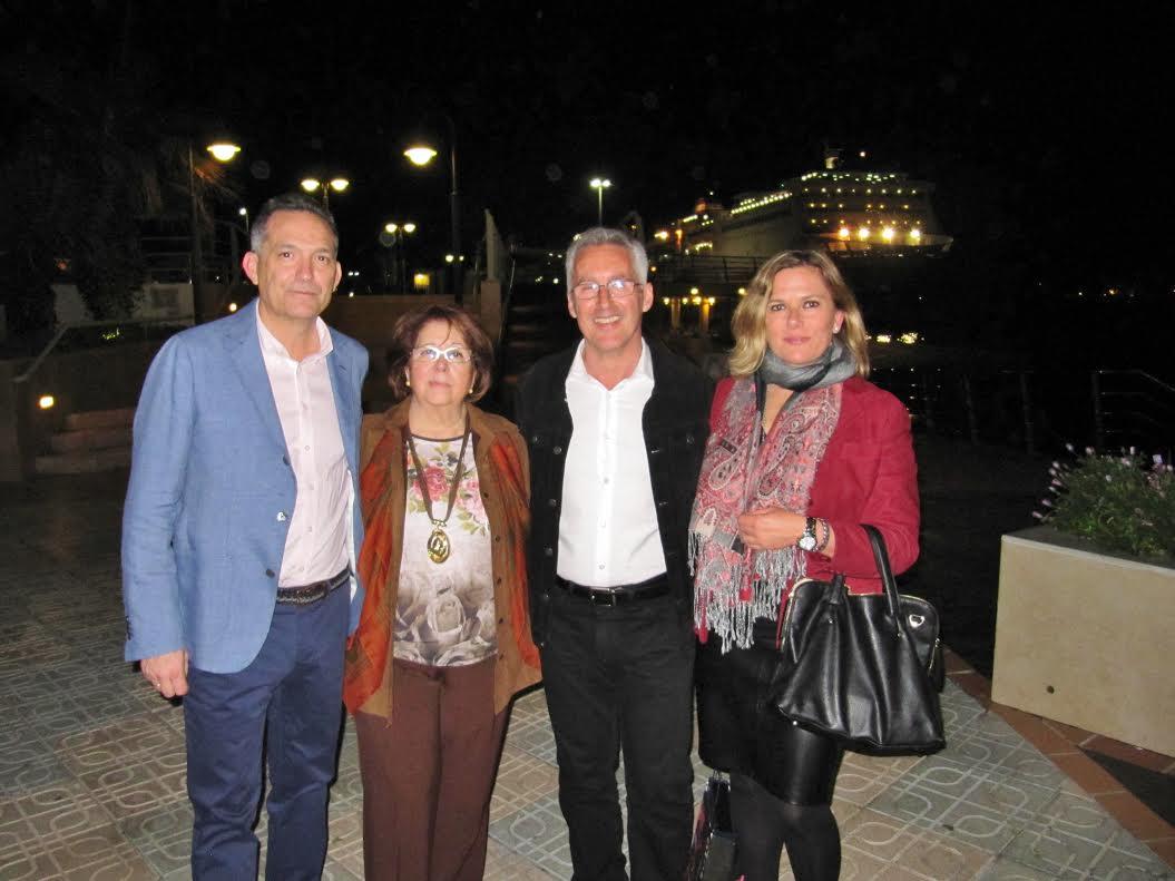 JUAN, ENCARNA, SERGIO Y BERRY