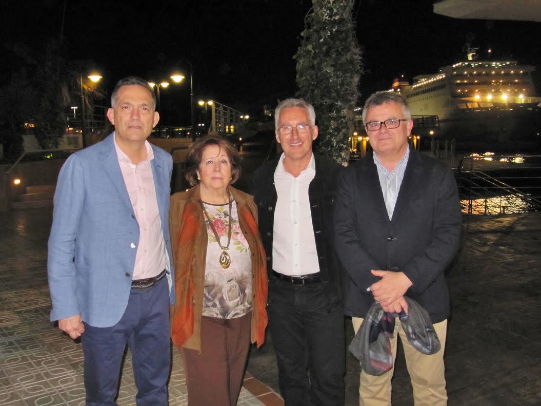 JUAN BELLVER, ENCARNA LEÓN, SERGIO BARCE Y ANTONIO BRAVO