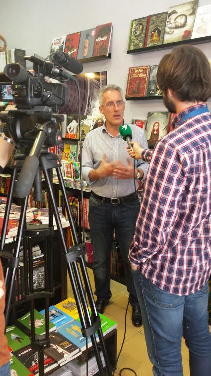 Sergio Barce en La Librería