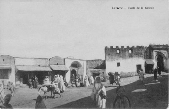LARACHE - PUERTA DE LA KASBAH