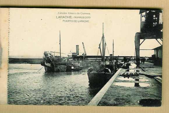 LARACHE 1928 - PUERTO
