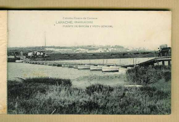 LARACHE - PUENTE DE BARCAS