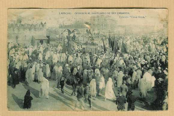 LARACHE - ROMERIA SANTUARIO EN 1928