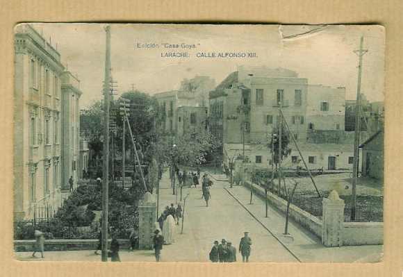 LARACHE EN 1928 - CALLE ALFONSO XIII