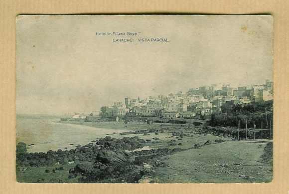 11-Larache nativo-1928-Vista parcial de la zona costera.