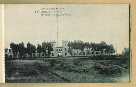 Larache colonial-1928-Estación radiotelegráfica