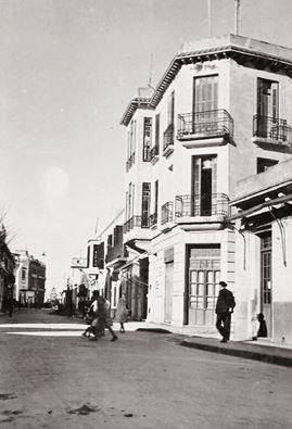calle Chinguiti esquina calle Cervantes