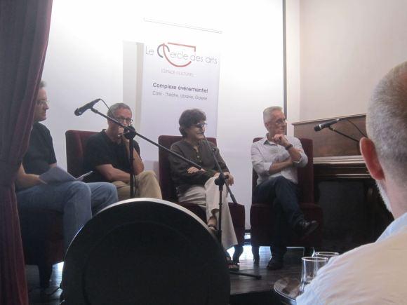 Luis Leante, Saljo Bellver, Antonio Lozano y Sergio Barce