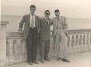 Balcón Atlántico. Manolín Cabeza, Antonio Barce y Juanito Parra