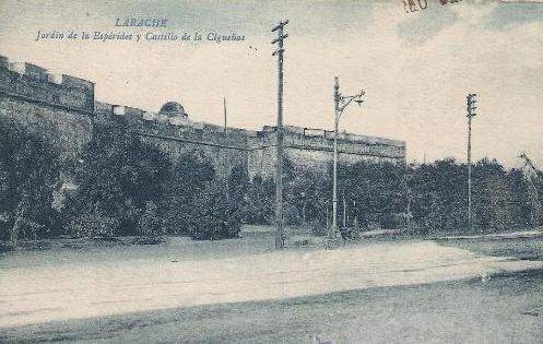 Larache - jardín de la Espérides y Castillo de las Cigueñas