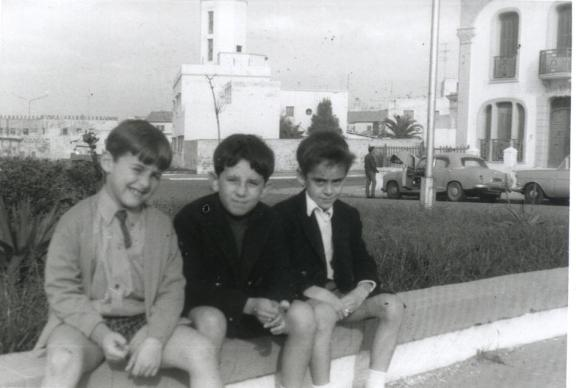 En el Balcón... Sergio, Juan Carlos y Javier
