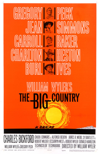 """The Big Country"" (Saul Bass Poster)1958 United Artists ** T.N.C."