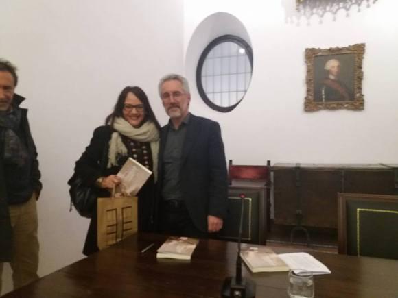 Inmaculada García Haro y Sergio Barce