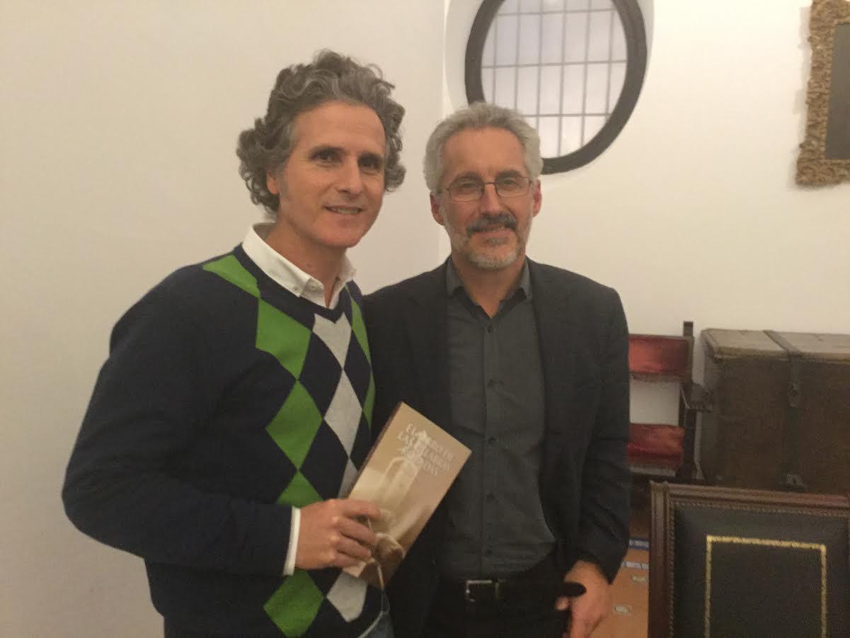 Pedro Delgado y Sergio