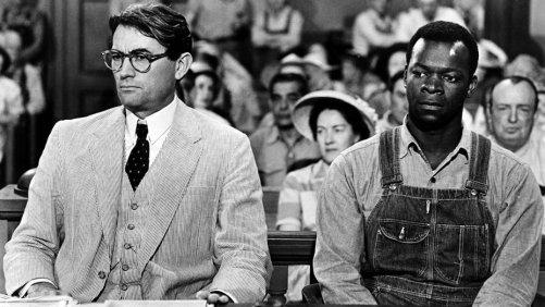 Atticus y Tom Robinson
